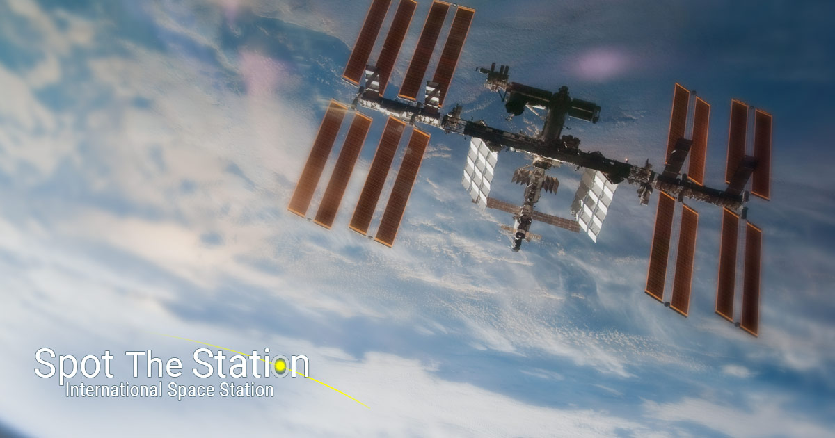 ISS sightings over your city | Spot The Station | NASA